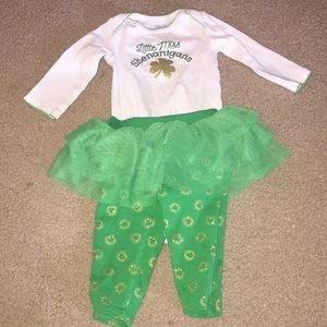 Other - Baby girls St. Patrick's Day outfit